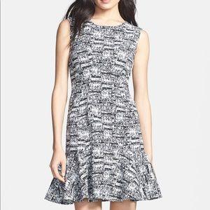 DVF Jaelyn Print Ponte Sheath Dress